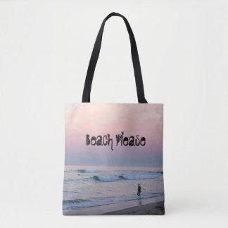 Brandung n Sonnenaufgang - Strand bitte Tasche