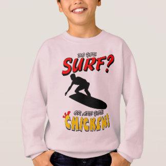 Brandung oder Huhn? 1 (Schwarzes) Sweatshirt