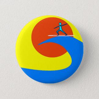 Brandung Runder Button 5,1 Cm
