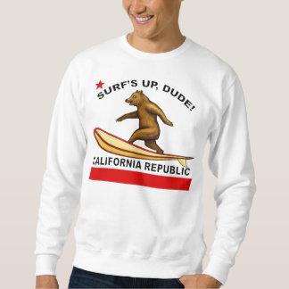Brandungen Up Typ-Kalifornien-Sweatshirts Sweatshirt