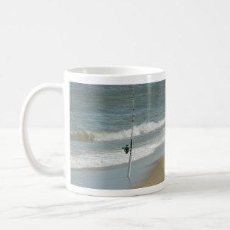 Brandungs-Fischen Kaffeetasse