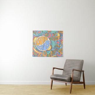 Brandungs-Reiter-Muster Wandteppich