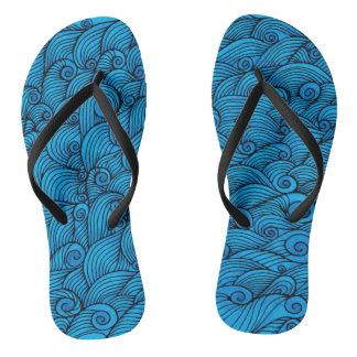 Brandungs-Wellen Flip Flops