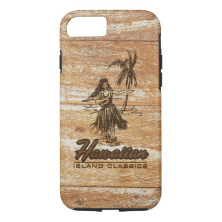 Brandungshack-hawaiisches Imitat hölzern iPhone 8/7 Hülle