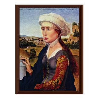 Braquealtar Rechte: Maria Magdalena Postkarte
