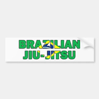 Brasilianer Jiu Jitsu Autoaufkleber