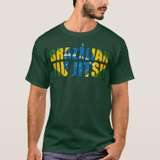 Brasilianer Jiu Jitsu T - Shirt im Waldgrün