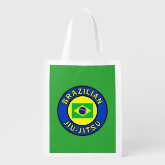 Brasilianer Jiu Jitsu Wiederverwendbare Einkaufstasche