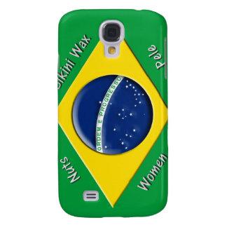 Brasilianische Flagge Galaxy S4 Hülle