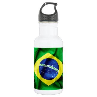 Brasilianische Flagge Trinkflasche