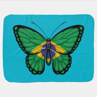 Brasilianische Schmetterlings-Flagge Puckdecke