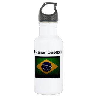 Brasilianischer Baseball Edelstahlflasche
