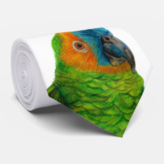 Brasilianischer Papagei Personalisierte Krawatten