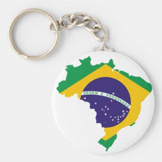 Brasilianisches Land Schlüsselanhänger