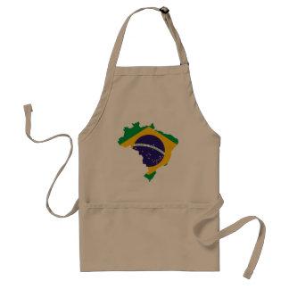 Brasilianisches Land Schürze