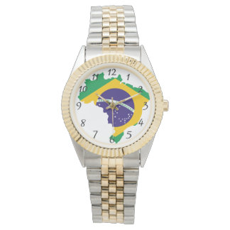 Brasilianisches Land Uhr