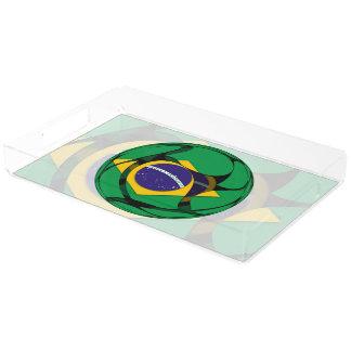 Brasilien 1 acryl tablett