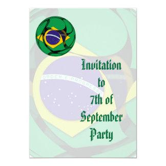 Brasilien 1 einladungskarte