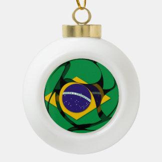 Brasilien 1 keramik Kugel-Ornament