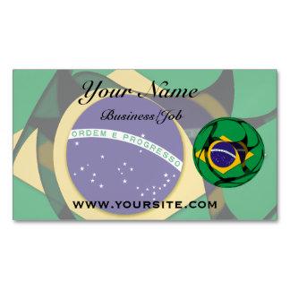 Brasilien 1 magnetische visitenkarte