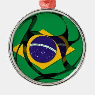 Brasilien 1 silbernes ornament