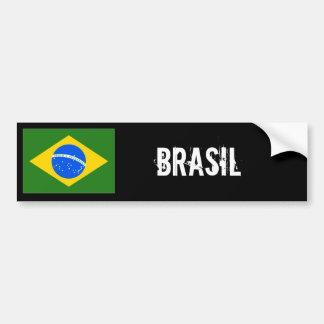 Brasilien-Autoaufkleber
