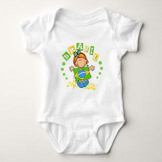 Brasilien Baby Strampler