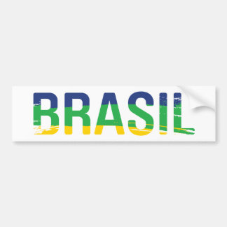 Brasilien - Brasilien Autoaufkleber