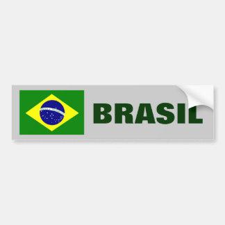 BRASILIEN- - BRASILIEN-FLAGGE AUTOAUFKLEBER