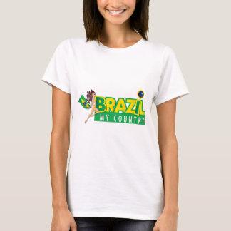 Brasilien das Hemd meiner Land-Frauen T-Shirt