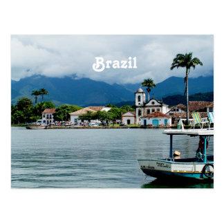 Brasilien-Dorf Postkarte
