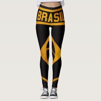 Brasilien-Emblem Leggings