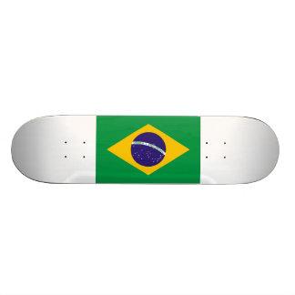 Brasilien-Flagge 18,1 Cm Old School Skateboard Deck