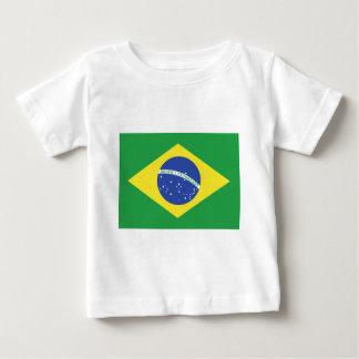 Brasilien-Flagge Baby T-shirt