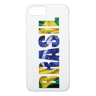Brasilien-Flagge iPhone 7 Hülle