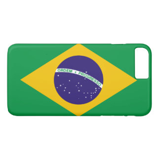 Brasilien-Flagge iPhone 8 Plus/7 Plus Hülle