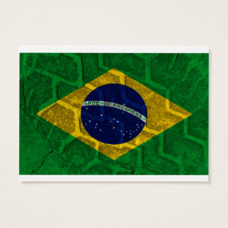 Brasilien-Flagge Jumbo-Visitenkarten