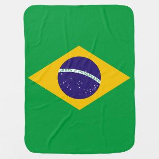 Brasilien-Flagge Kinderwagendecke