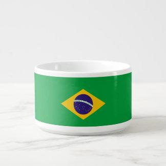 Brasilien-Flagge Schüssel