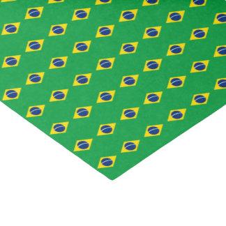Brasilien-Flagge Seidenpapier