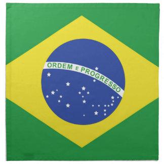 Brasilien-Flagge Serviette
