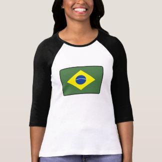 Brasilien-Flagge T-Shirt