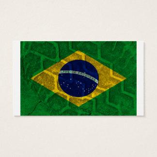 Brasilien-Flagge Visitenkarte