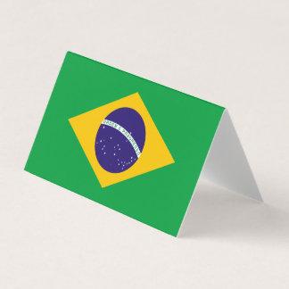 Brasilien-Flagge Visitenkarten