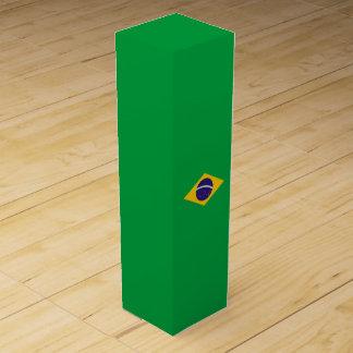 Brasilien-Flagge Weinbox