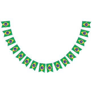 Brasilien-Flagge Wimpelketten