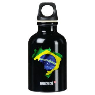 Brasilien-Flaggen-Land Wasserflasche