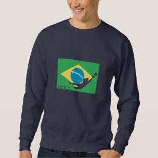 Brasilien-Flaggen-Schalen-T - Shirt
