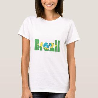 Brasilien-Flaggen-T - Shirt