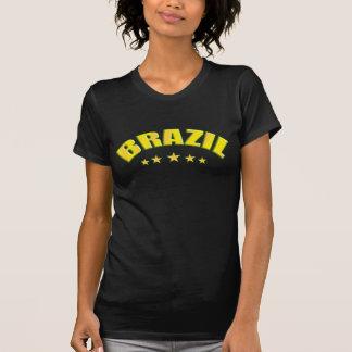 Brasilien-Fußball Futebol Brasilien Retro T - T-Shirt